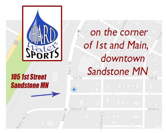 Sandstone, MN map